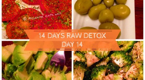 14 days raw foods detox challenge - day 14