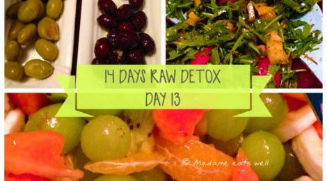 14 days raw foods detox challenge - day 13