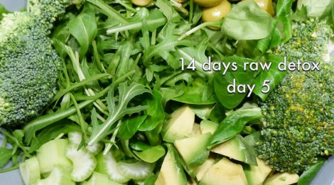 14 days raw foods detox challenge - day 5