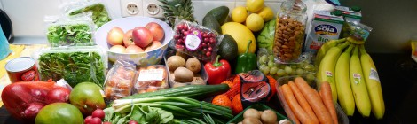 Shopping list and tipps for 2 weeks raw